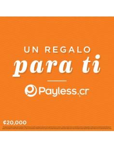 Payless Gift card - 20000
