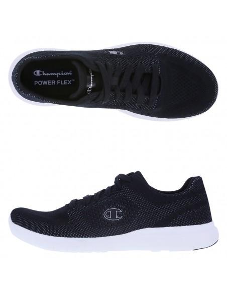 Zapatos para correr Activate Power Knit para hombre - Negro