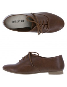 Women's Jazz Oxfords shoes - Brown