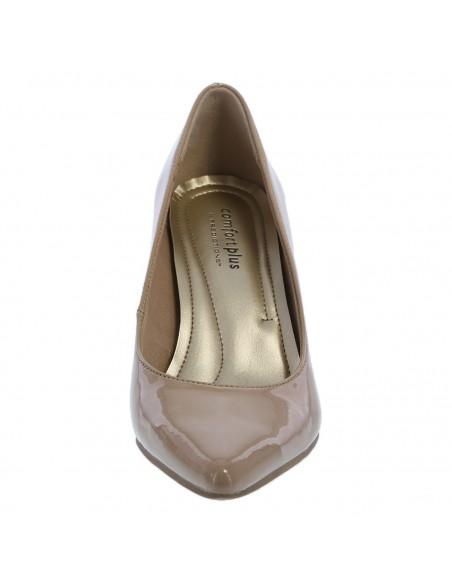 Zapatillas puntiagudas Janine para mujer - Tan