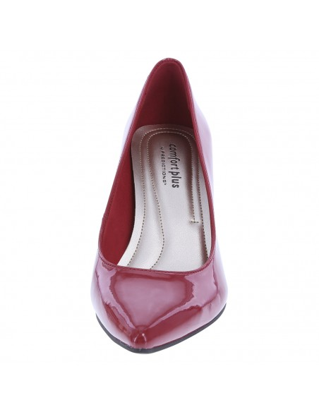 Zapatillas puntiagudas Janine para mujer - Rojo