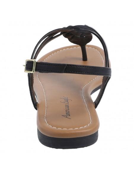 Zapatos planos de tiras trenzados Paprika para mujer