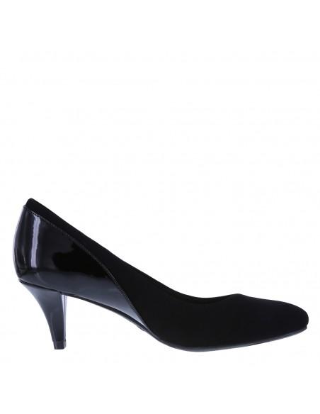 Women's Karlotta Low-Heel Pump shoes - Black