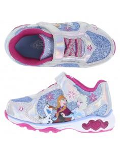 Girl's Toddler Frozen Runner blue glitter from Payless