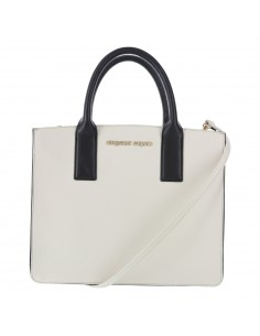 Women's Ava Accordion white Handbag from Payless