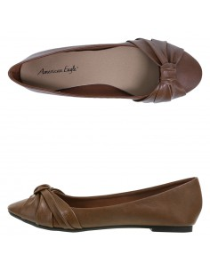 Zapatos planos Briley para mujer - Cognac