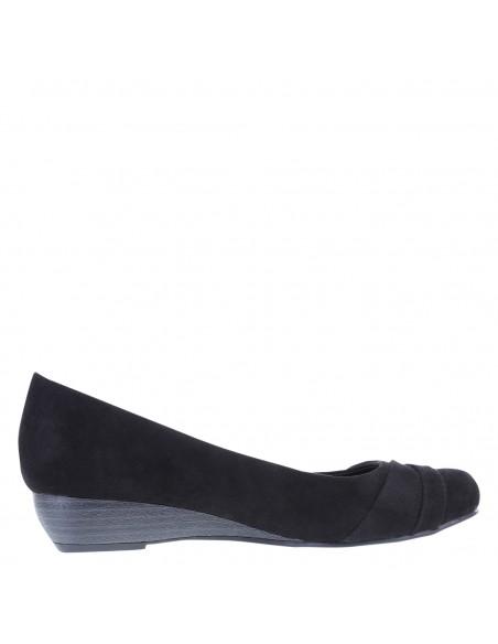 Zapatos de cuña Campdyn para mujer - Negro