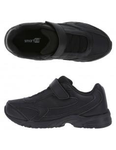Boys' Hutch Strap Sneaker - Black