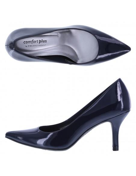 Zapatillas puntiagudas Janine para mujer - Azul