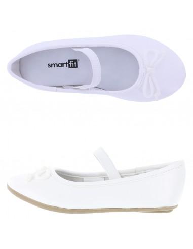 Girls' Toddler Fae Stringtie Flat shoes - White