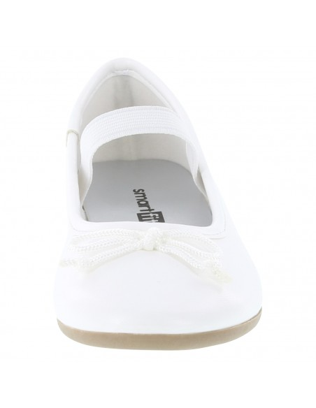 Girls' Toddler Fae Stringtie Flat shoes - White
