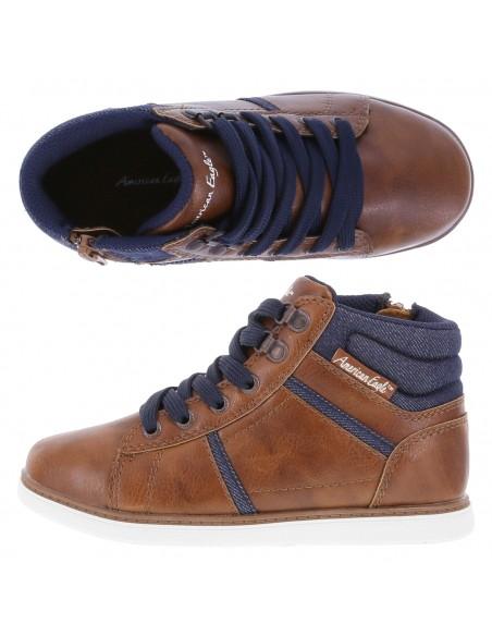 Zapatos Hayden para niño - Cognac