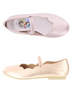Girl's toddler Princess Scallop shoes
