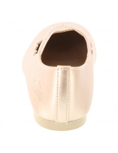 Girl's toddler Princess Scallop shoes