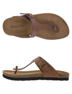 Women's Sage Footbed sandals - Brown