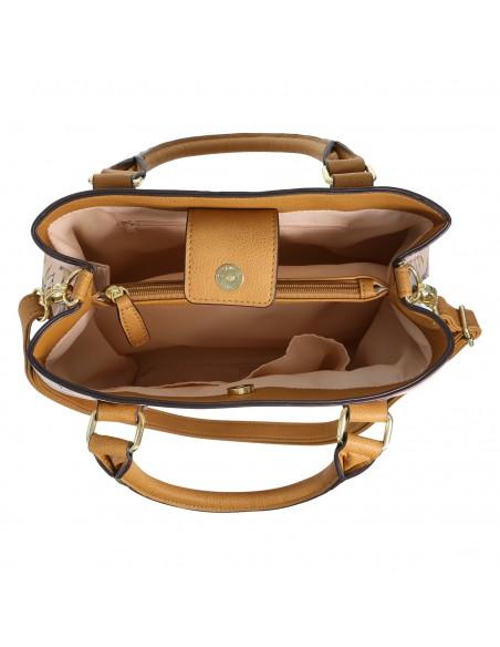 Women's Leisa tote Handbag - Cognac