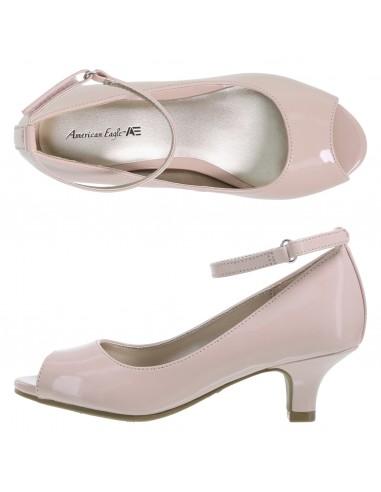 Girl's Peep Pump shoes