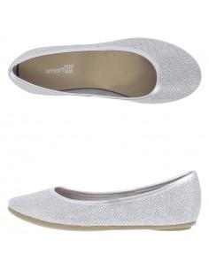 Girl's Chelsea II flat shoes - Silver