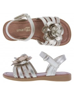 Girl's Melanie III Flower shoes