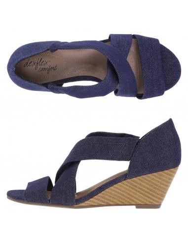 Women's Kerry Wedge - Blue