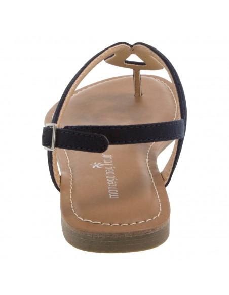 Women's Wishbone Flat sandals - Blue