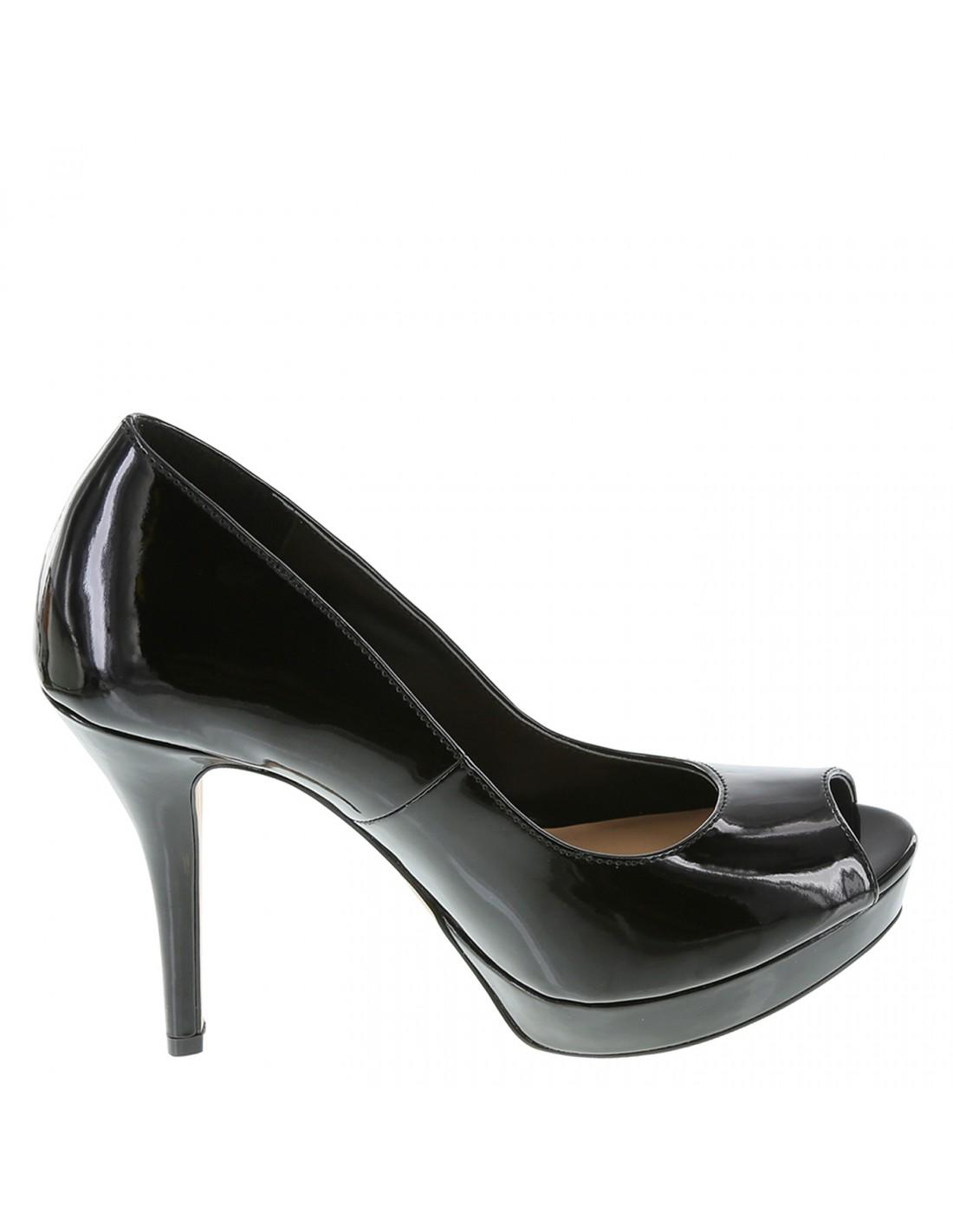 565a58e4230 Zapatos Sofía Vergara Peep Toe Plataforma - Negro. ¡En oferta!