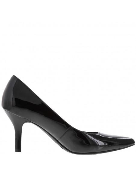 Zapatillas puntiagudas Janine para mujer - Negro