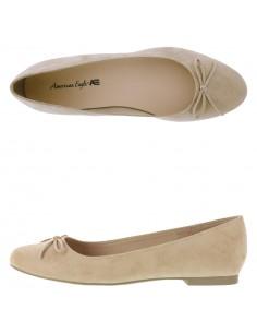 Zapatos planos Elise Bow para mujer nude de Payless