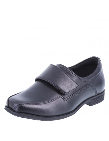 Boys' Grant Strap Dress Shoes - Black