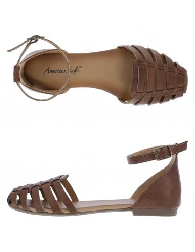 Women's Peyton 2-Pc. Flat Sling sandal - tan