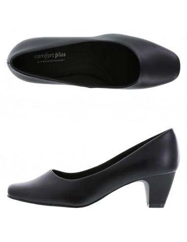 Women's Janis Low Heel Pump shoes - Black