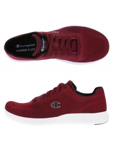 Zapatos para correr Activate Power Knit para hombre - Rojo