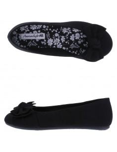 Girls' Anna Wrap Ballet shoes - Black