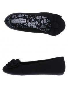 Girls' Anna Wrap Ballet shoes - Black