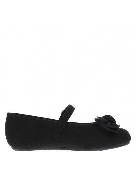 Zapatillas de ballet Anna para niña pequeña - Negro