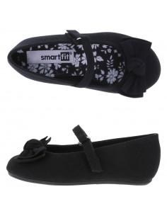 Girls' Toddler Anna Wrap Ballet shoes - Black